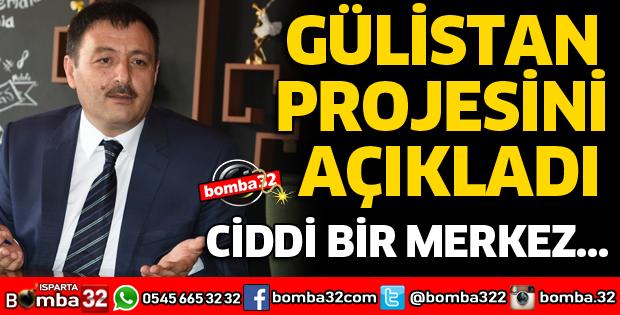 Gülistan projesini açıkladı