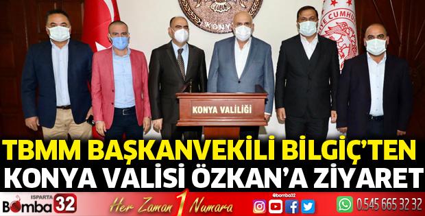 TBMM Başkanvekili Bilgiç'ten Konya Valisine ziyaret