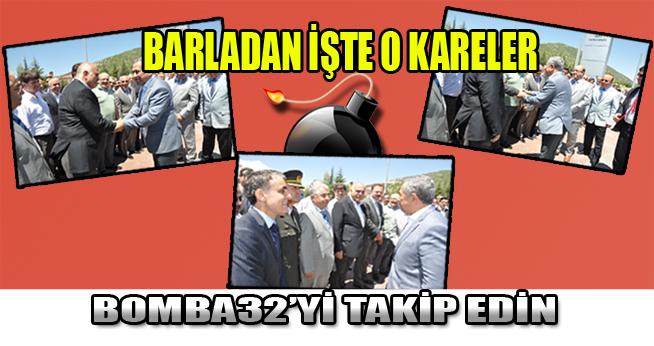 TÜRKİYE'NİN İKİNCİ ADAMI ISPARTA'DAN GEÇTİ...