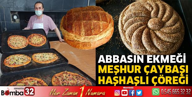 Abbasın Ekmeğinde meşhur çaybaşı haşhaşlı çöreği