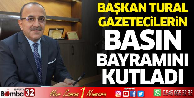 Başkan Tural gazetecilerinBasın Bayramını kutladı