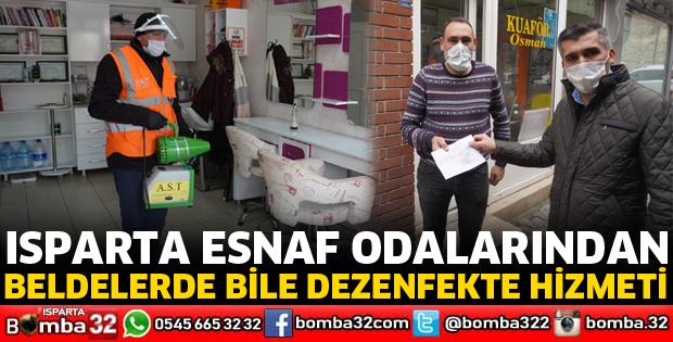 BELDELERDE BİLE DEZENFEKTE HİZMETİ