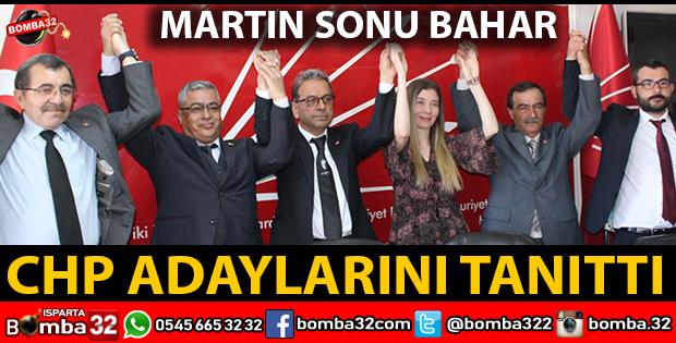 CHP İL GENEL MECLİS ADAYLARI KARARLI