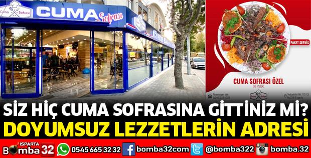 CUMA SOFRASI HİZMETTE