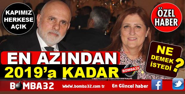 En azından 2019'a kadar Ankara'dayım, kapımız sizlere açık