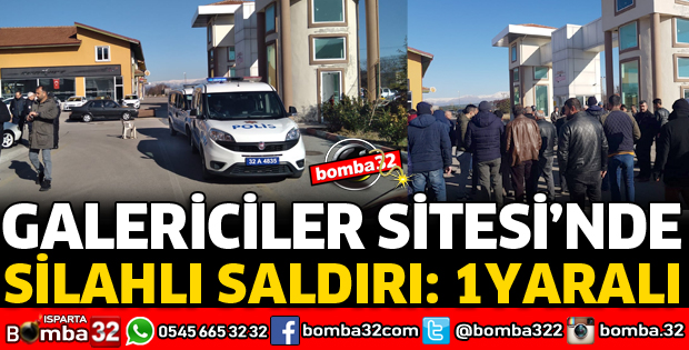 GALERİCİLER SİTESİNDE SİLAHLI SALDIRI