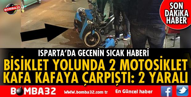 MİMAR SİNAN CADDESİ BİSİKLET YOLUNDA KAZA