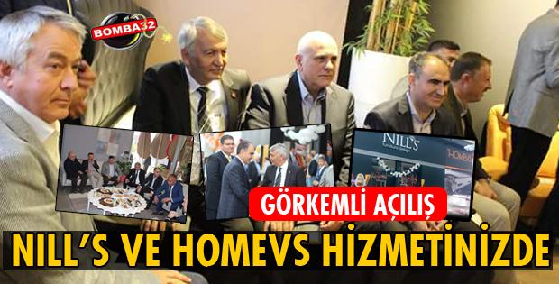 NILL'S VE HOMEVS HİZMETİNİZDE