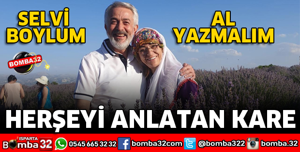 SELVİ BOYLUM AL YAZMALIM