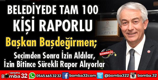 TAM 100 KİŞİ RAPORLU