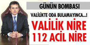 112 ACİLDE ODA SERVİS EDİLDİ