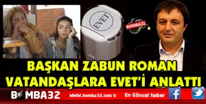 AK Parti İl Başkanı Osman Zabun Roman vatandaşlarla bir araya geldi
