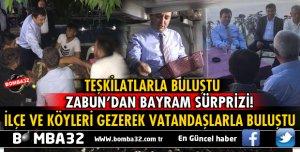AK PARTİ İL BAŞKANI ZABUN'DAN RAMAZAN BAYRAMI ÇIKARTMASI