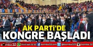 AK PARTİ'DE KONGRE BAŞLADI