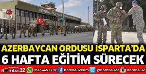 Azerbaycan ordusu Isparta'da