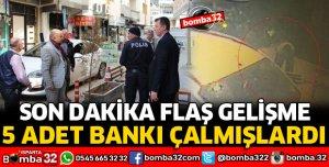 BANK HIRSIZLARI SERBEST BIRAKILDI