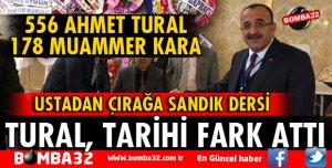 BAŞKAN TURAL'DAN SEÇİMLERDE TARİHİ FARK!
