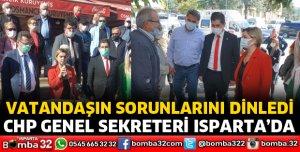 CHP GENEL SEKRETERİ ISPARTA'DA