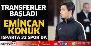 Emincan Konuk Isparta 32 Spor'da