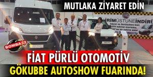 FİAT PÜRLÜ OTOMOTİV GÖKUBBE AUTOSHOW FUAR'ına katıldı.