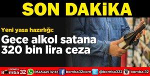 GECE ALKOL SATANA 320 BİN TL CEZA YOLDA