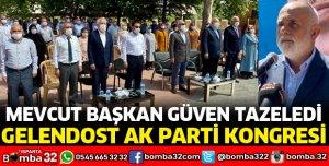GELENDOST AK PARTİ'DE MEVCUT BAŞKAN İLE DEVAM