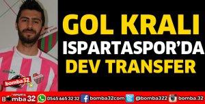GOL KRALI ISPARTASPOR'DA