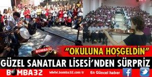 GÜZEL SANATLAR LİSESİ'NDEN SÜRPRİZ