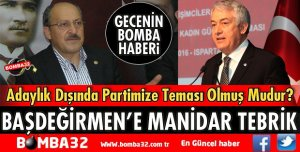 HAYDAR KEMAL KURT'TAN BAŞDEĞİRMEN'E MANİDAR TEBRİK