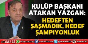 HEDEF ŞAMPİYONLUK