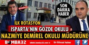 İLK ROTASYON NAZMİYE DEMİREL OKUL MÜDÜRÜNE!