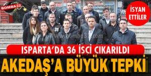 İŞÇİLER PROTESTO ETTİ