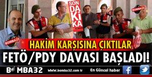 ISPARTA FETÖ/PDY DAVASI BUGÜN BAŞLADI