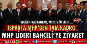 ISPARTA MHP'DEN TAM KADRO ZİYARET