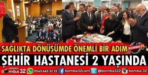ISPARTA ŞEHİR HASTANESİ 2 YAŞINDA
