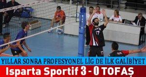 Isparta Sportif 3 - 0 TOFAŞ