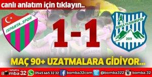 Isparta32spor Bursa Yıldırım canlı