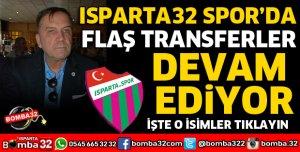 ISPARTA32SPOR'DA FLAŞ TRANSFERLER DEVAM EDİYOR