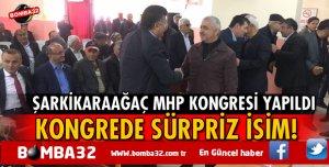 ISPARTA'DA MHP KONGRESİNE KATILDILAR