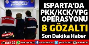 ISPARTA'DA PKK OPERASYONU