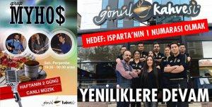 ISPARTA'NIN GÖNÜL KAHVESİ!