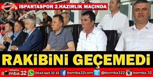 ISPARTASPOR 2.HAZIRLIK MAÇINDA KOZANSPORA YENİLDİ