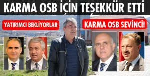 KARMA OSB SEVİNCİ!
