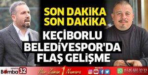 Keçiborlu Belediyespor'da flaş gelişme
