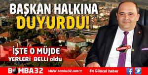 KEÇİBORLU'YA MÜJDE  YERLERİ BELLİ OLDU!