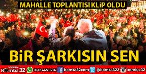MAHALLE TOPLANTISINI KLİP YAPTILAR