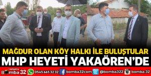 MHP HEYETİ YAKAÖREN'DE