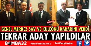 MHP'DE MEVCUT BAŞKANLAR TEKRAR ADAY