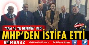 MHP'DE ŞEMSETTİN GÜL İSTİFA ETTİ