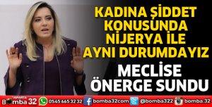 MİLLETVEKİLİ CESUR MECLİSE ÖNERGE SUNDU